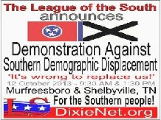 White Supremacist Announces Rally in Tennessee to Secede from US