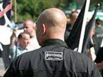 Neo-Nazi Skinheads Call For Action In Britain
