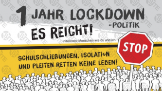 German Far-Right, Conspiracy Theory Communities Coordinate Nationwide March 13 Anti-Lockdown Protests