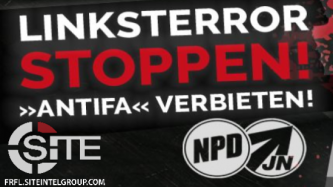 "German Neo-Nazi Organization Announces Dresden Protest Against ""Leftist Terrorism"""