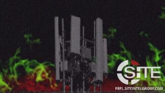 Following String of Arson Attacks, Accelerationists Promote Destruction of Cell Towers