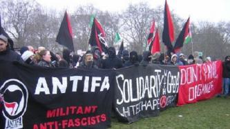 Far-Right Forum Encourages Violence Against Far-Left Activists and Antifa