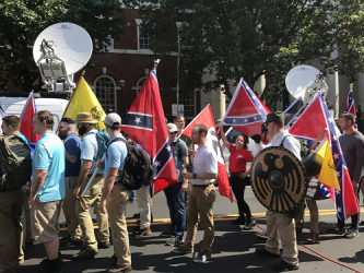White Supremacists Rail Against Sentencing of James Fields in Charlottesville Case