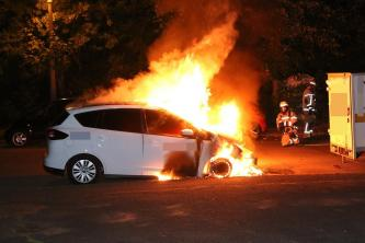 Arsonists Claim an Arson Attack Against Car as Attack Against Military Supplier Draeger in Berlin, Germany