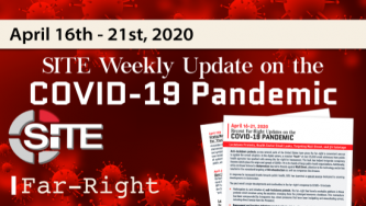 Recent Far-Right Updates on the COVID-19 Pandemic: April 16 - 21, 2020
