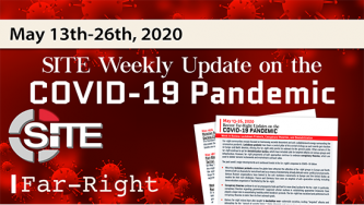 Recent Far-Right Updates on the COVID-19 Pandemic: May 13 - 26, 2020