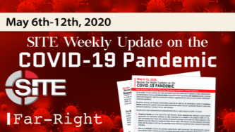 Recent Far-Right Updates on the COVID-19 Pandemic: May 6 - 12, 2020