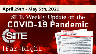 Recent Far-Right Updates on the COVID-19 Pandemic: April 29 - May 5, 2020