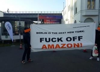"Activist Website Shares Message that ""Berlin is the Next New York"" for Amazon, and Urges the Company to Stay Out"