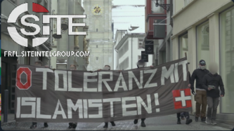 Swiss Neo-Nazi Group Carries Out Anti-Islam Demonstration in St. Gallen