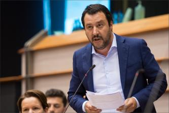 White Supremacists Applaud Italian Deputy PM Matteo Salvini's Suggestion for Anti-Immigrant Pan-European League