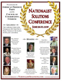"White Supremacists Share News for Upcoming June ""Nationalist Solutions Conference"" in Tennessee"