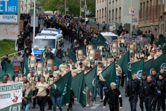 "White Supremacists Praise Supposed ""Neo-Nazi March"" in the German Capital of Berlin"