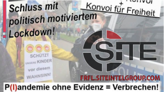 "Prominent German Far-Right Group Advertises Upcoming Protest Against ""Plandemic Crimes"""