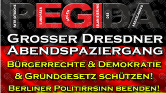 Prominent German Far-Right Group Advertises Upcoming Anti-Government Demonstration in Dresden
