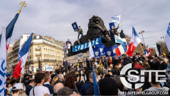 Branches of European White Nationalist Organization Publicize Participation at Paris Protest, Local Acts of Solidarity for Generation Identity France