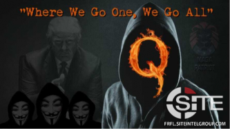 QAnon Community Calls On Conspiracy Followers to Enlist as Trump's Poll Watchers