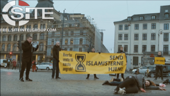 Danish Identitarian Group Releases Video Documenting Recent Copenhagen Demonstration