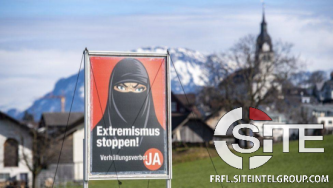 International Far-Right Community Responds To Potential Swiss Ban on Islamic Face Coverings