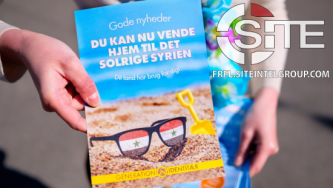 "Danish Identitarian Activists Rally in Copenhagen to Promote Syrian Refugee Repatriation ""Competition"""