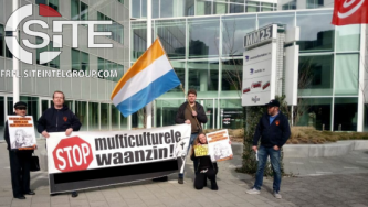 "Dutch White Nationalist Organization Targets Coca-Cola for ""Anti-White Racism"" In Recent Demonstration Outside Company Headquarters"