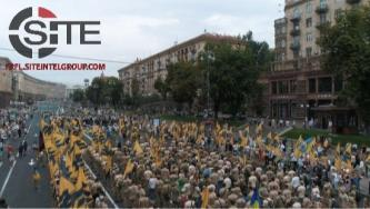 Far-Right Paramilitary Groups, Organizations, and Parties Participate in Ukrainian Independence Day Events