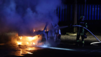 German Anarchists Claim Arson Attack against Vehicles of Prison Food Catering Company