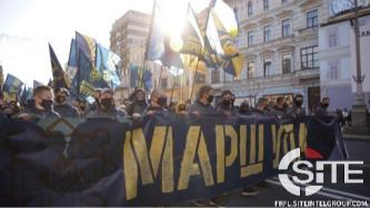 "Prominent Ukrainian Far-Right Groups March on Annual ""Defender of Ukraine"" Day"