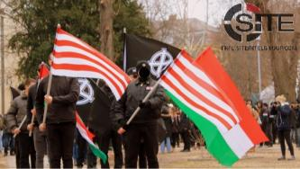 Russian Far-Right Group Advertises Hungarian Neo-Nazi March