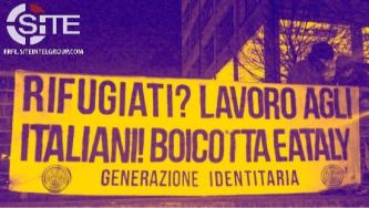 Italian Identitarians Call for Boycott of Companies Employing Foreign Labor