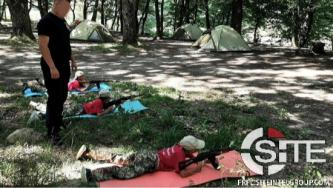Far-Right Group Conducts Military Training at Ukrainian Youth Camp