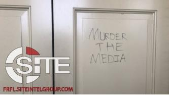Capitol Building Graffiti Indicates Neo-Nazi Presence During Far-Right Insurrection in U.S.