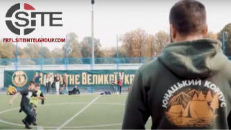 Far-Right Ukrainian Political Party Organizes Public Youth Sports Event