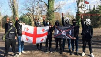 """Kill Your Local Red"": Georgian Neo-Nazi Group Organizes Anti-Communist Public Action"