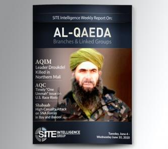 Weekly inSITE on al-Qaeda for June 4-10, 2020