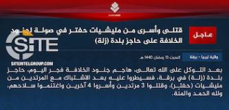 ISIS Claims Killing Three, Kidnapping Four Near NOC's Zella Oilfield in Libya