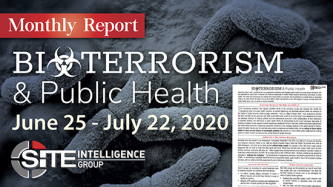 Bioterrorism & Public Health: Monthly Report July 23, 2020
