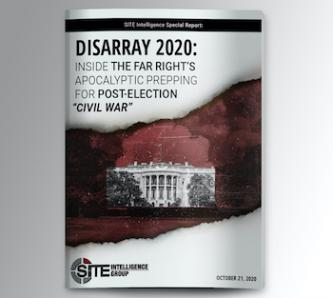 "Disarray 2020: Inside the Far Right's Apocalyptic Prepping for Post-Election ""Civil War"""