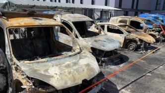 Far-Left Extremists Claim Arson Attacks on Enedis in Nantes, France