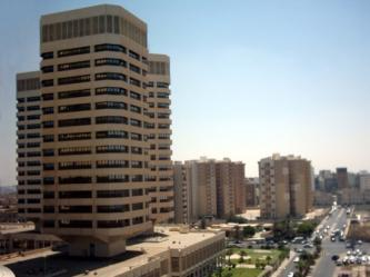 """Security Threat"" Evacuates That El Emad Towers in Tripoli, Libya"