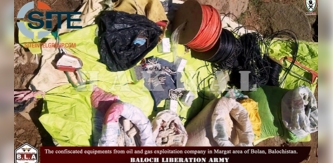 Baloch Liberation Army Claims Attack on Oil & Gas Company in Pakistan