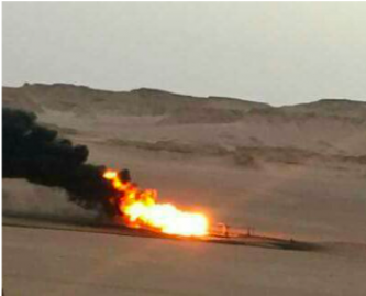 Waha Oil Pipeline Attacked in Libya