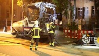 Far-Left Extremists Claim Attack Against Eurovia-Vinci Vehicle in Germany