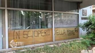 Far-Left Extremists Vandalize RAI Office in Genoa, Italy