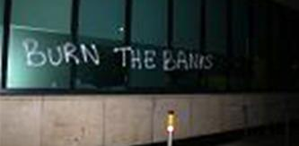 Anarchists Sabotage Bank of Ireland & AIB Branches, ATMs in Dublin
