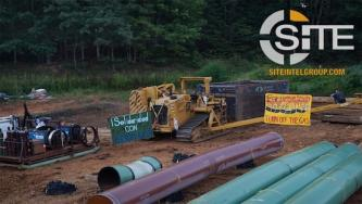 Two Eco-Extremists Arrested at Mountain Valley Pipeline Site in Virginia