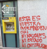 Madrid Bank Branches, ATMs Attacked by Anarchists