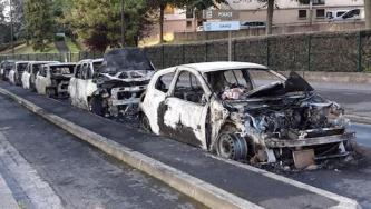 Anarchists Target Enedis Vehicle in Paris, France