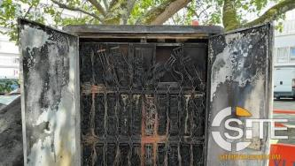 Far-Left Extremists Destroy Telecommunications Box in Arson Attack in France
