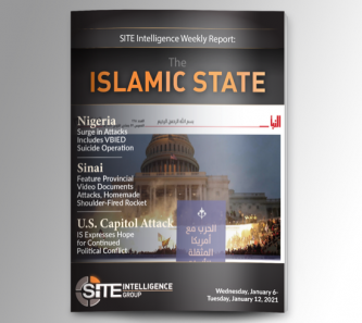 Weekly inSITE on the Islamic State for January 6-12, 2021